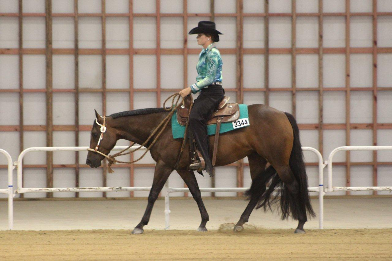 Georgia and GH Passin Class, 1st 3yr Old Western Pleasure, 2012 AQHA-NZ National
